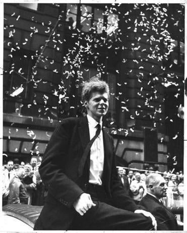 The pianist received a New York ticker tape parade after his victory.